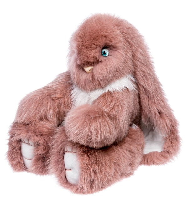 Toys made of natural fur Hare (55 cm) – photo #1