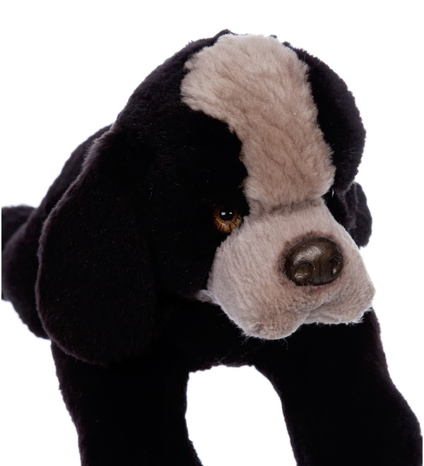 Toy of natural fur Dog Toby – photo #4
