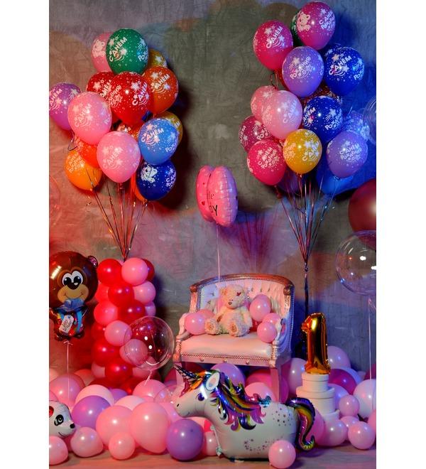 Оформление шарами Для принцессы! – фото № 5