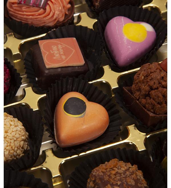 Конфеты ручной работы из бельгийского шоколада Люблю не могу – фото № 2