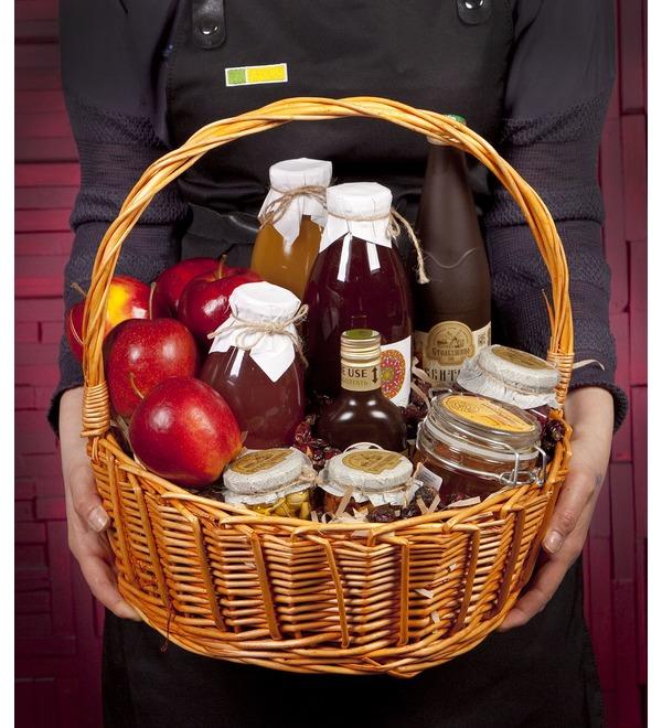 Подарочная корзина Медовые яблоки – фото № 1