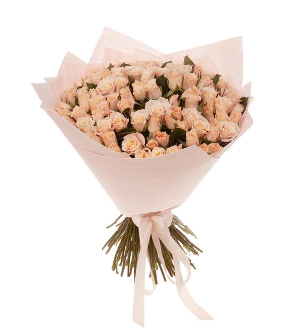 Букет-соло роз Medeo (15,25,35,51,75 или 101) – фото № 5