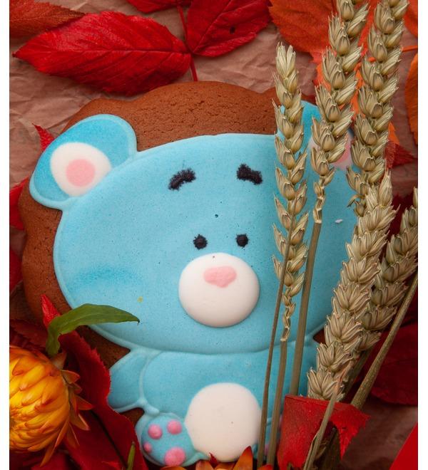 Продуктовый букет Мишка – фото № 3