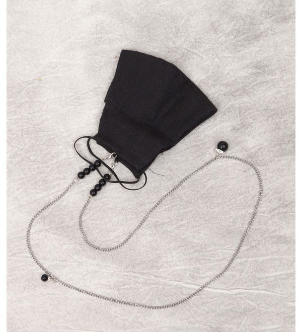 Дизайнерский аксессуар Льняная маска St.Myko – фото № 1