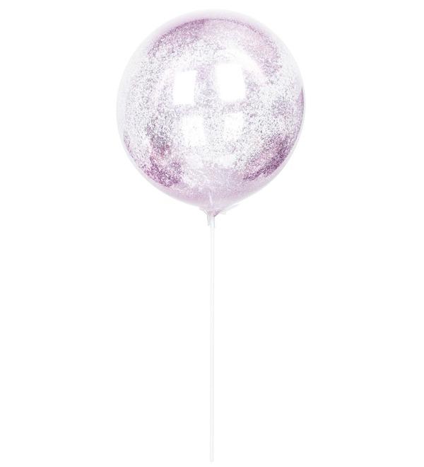 Эксклюзивный воздушный шар с глиттером – фото № 1