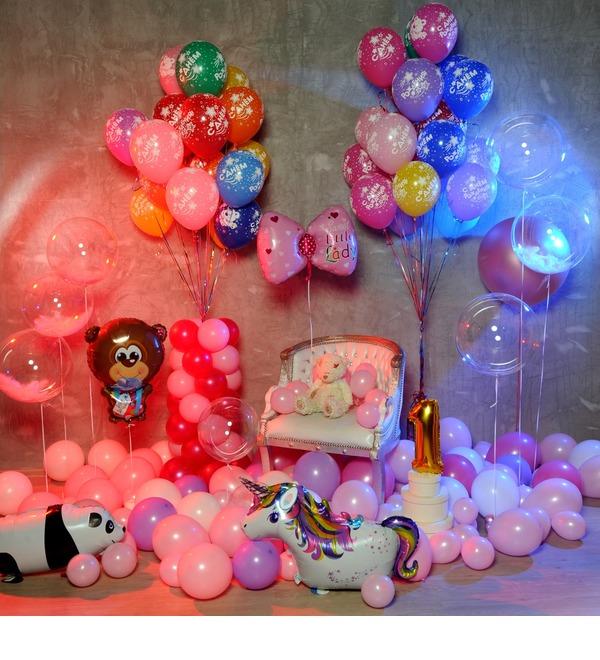 Оформление шарами Для принцессы! – фото № 2