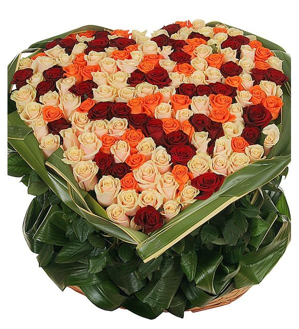 Композиция из роз В доказательство любви... – фото № 2