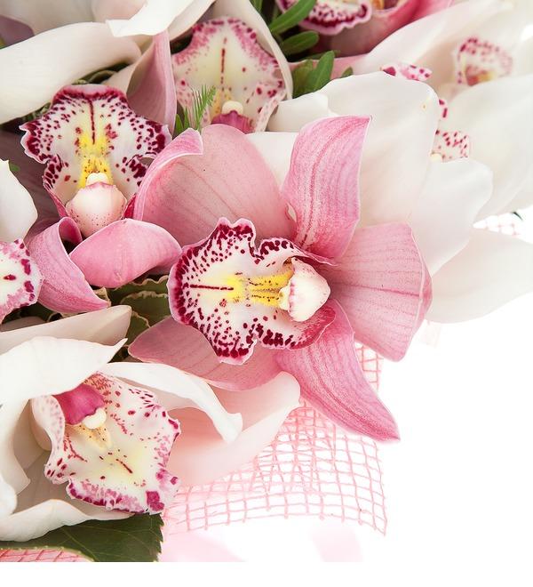 Букет-дуэт Орхидеи Cymbidium – фото № 3
