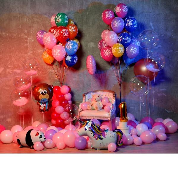 Оформление шарами Для принцессы! – фото № 4