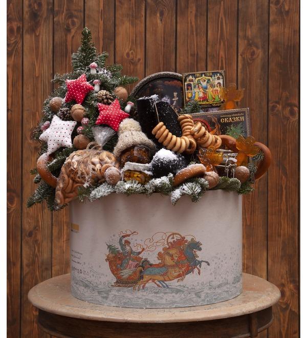 Подарочная коробка Тройка лошадей – фото № 5