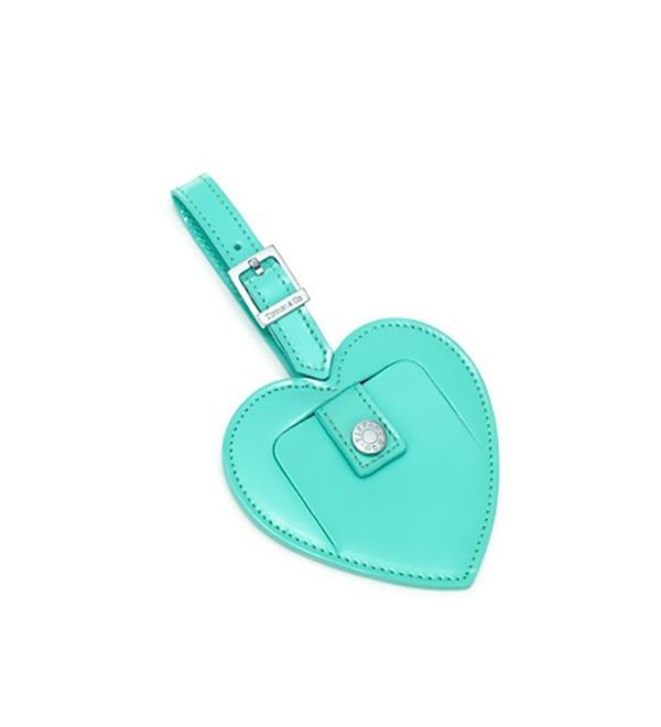 Брелок для багажа Luggage Tag Heart Tiffany – фото № 1