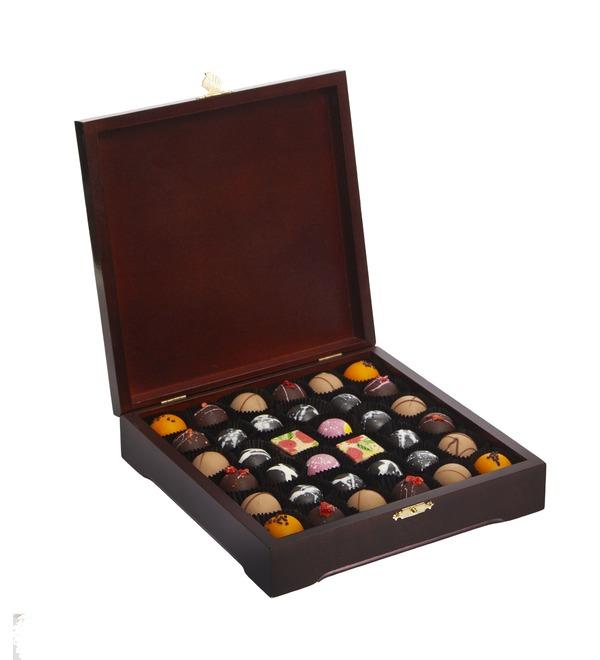 Конфеты ручной работы из бельгийского шоколада Шотландия – фото № 1
