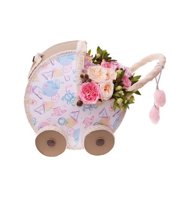 Цветочная коляска С Рождением Малышки! – фото № 4