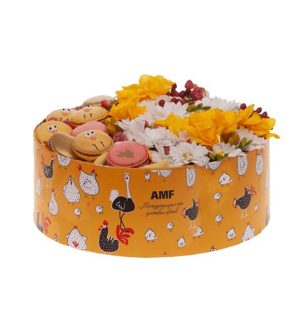 Подарочная коробка Забавные цыплята – фото № 4