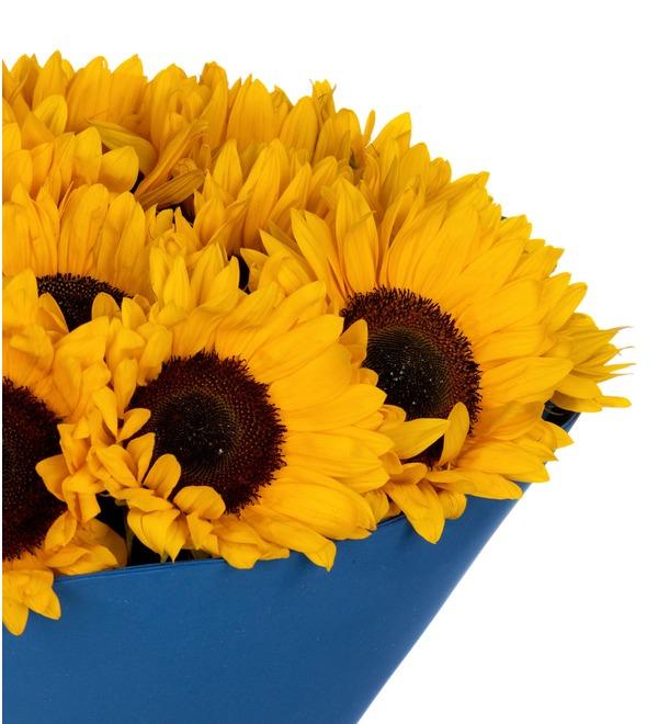Букет-соло Солнце в подарок (9,15,25,35 или 51) – фото № 3