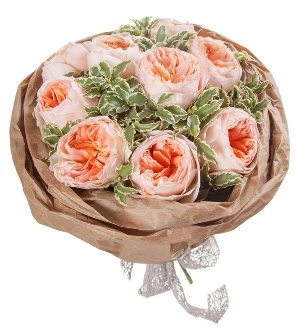 Букет из пионовидных роз Мгновение – фото № 5