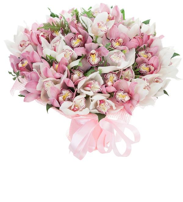 Букет-дуэт Орхидеи Cymbidium – фото № 1
