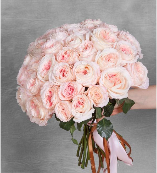 Букет-соло пионовидных роз Mayras Bridal (15,25,35,51,75 или 101) – фото № 1