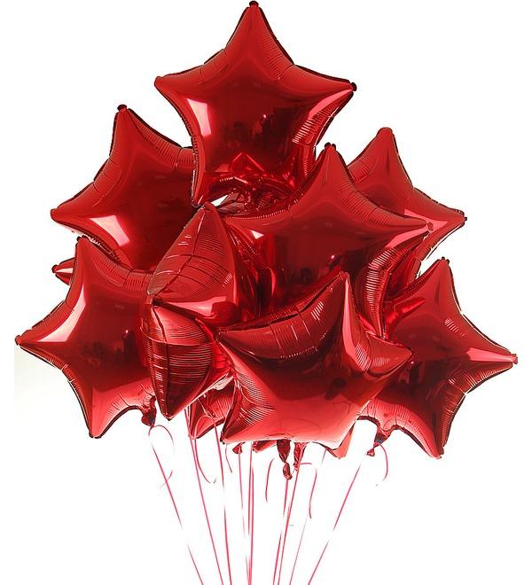 Букет шаров Все звёзды для тебя (11 или 21 шар) – фото № 1