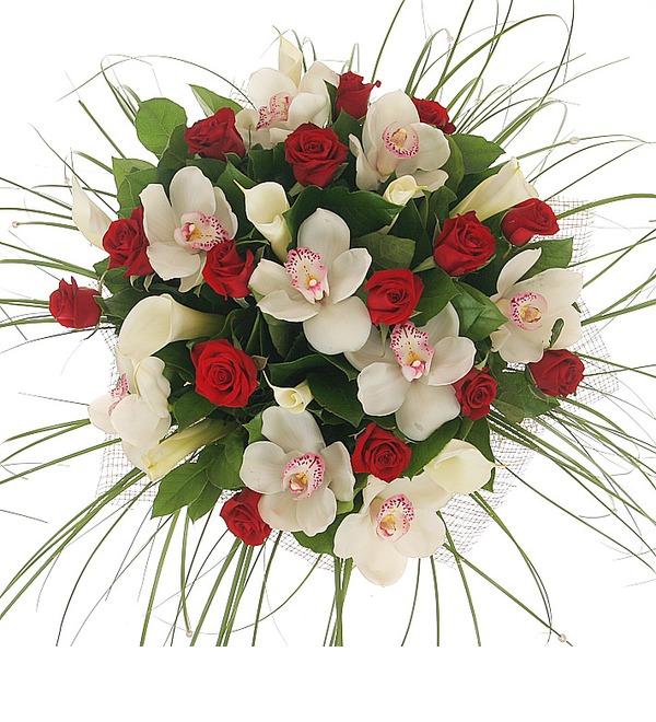 Букет Москва, розы, мечты... – фото № 4