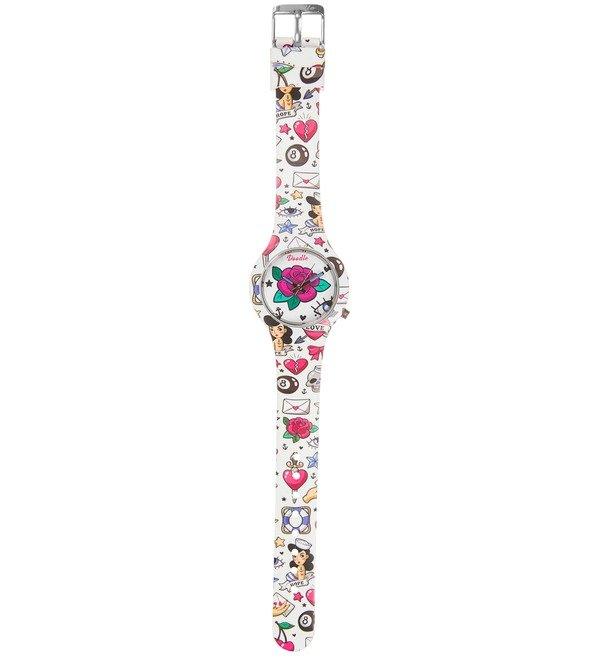 Часы Doodle Роза – фото № 3