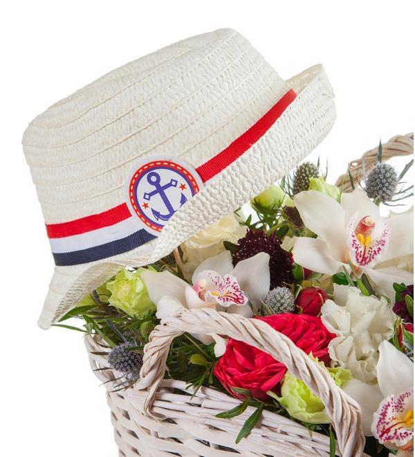 Композиция Соломенная шляпка – фото № 3