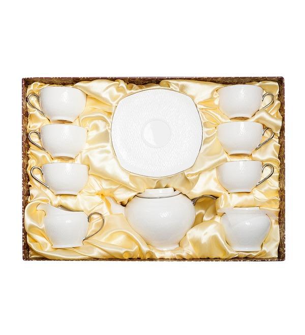 Чайный сервиз на 6 персон Ордженто бьянко – фото № 5