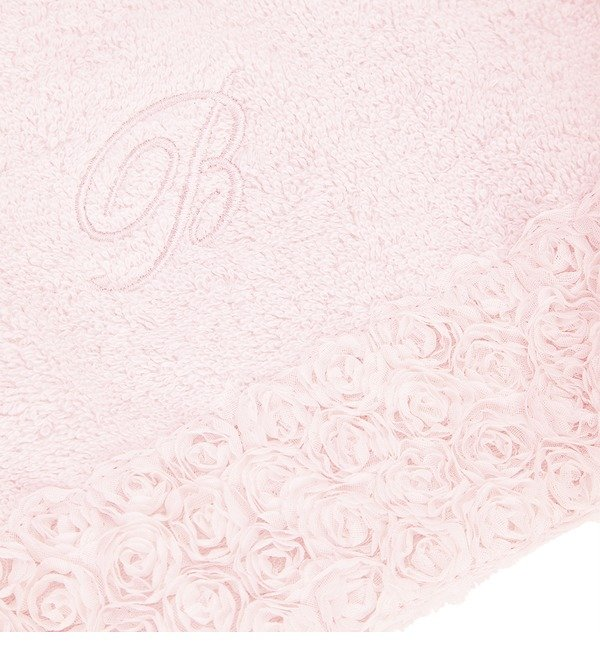 Set of 2 towels with volume roses – photo #3