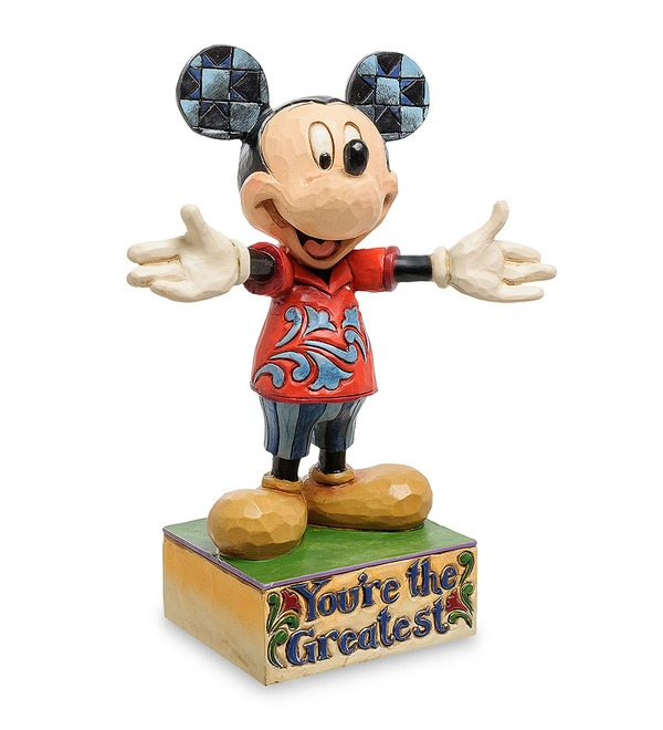 Figurine Mickey Mouse. Youre the best! (Disney) – photo #1