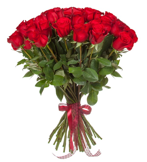 Bouquet of Ecuadorian Freedom Roses (25, 51, 75 or 101) – photo #4