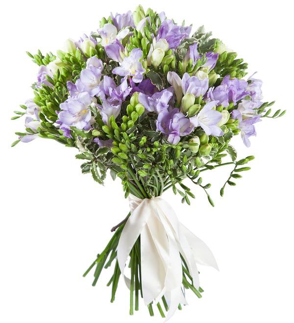 Bouquet of freesias – photo #1