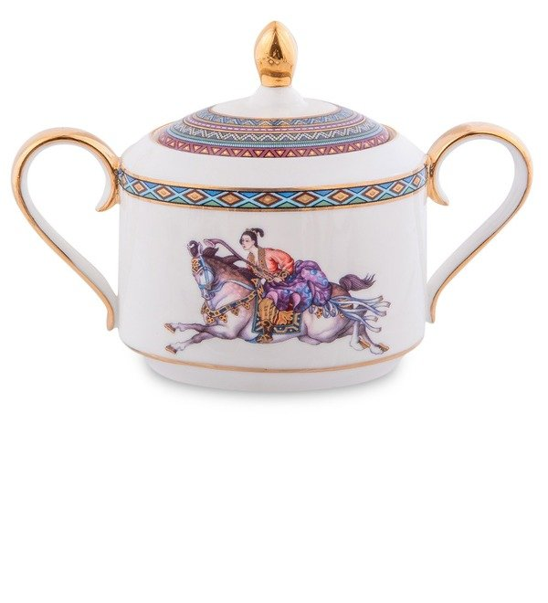 Чайный сервиз на 6 персон Восточное Поло (Pavone) – фото № 4