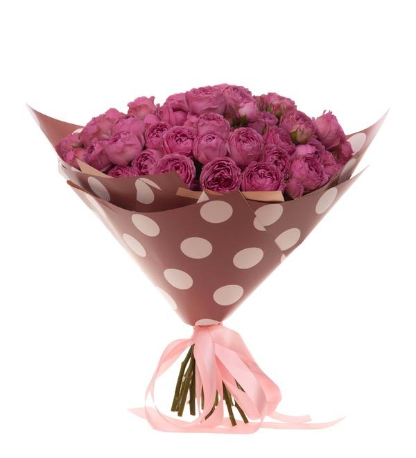 Букет-соло роз Misty Bubbles (9,15,25,35 или 51) – фото № 4