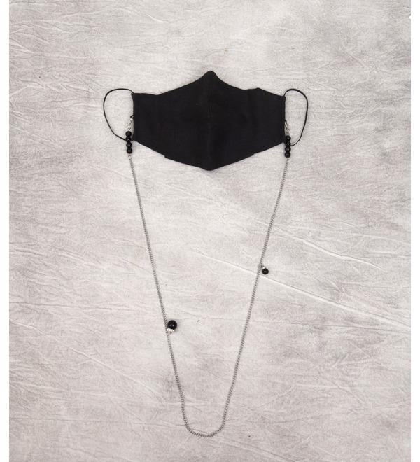 Дизайнерский аксессуар Льняная маска St.Myko – фото № 2