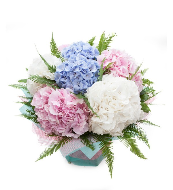 Bouquet of hydrangeas Soaring in the Clouds – photo #1