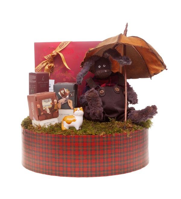 Подарочная коробка Под зонтом – фото № 4