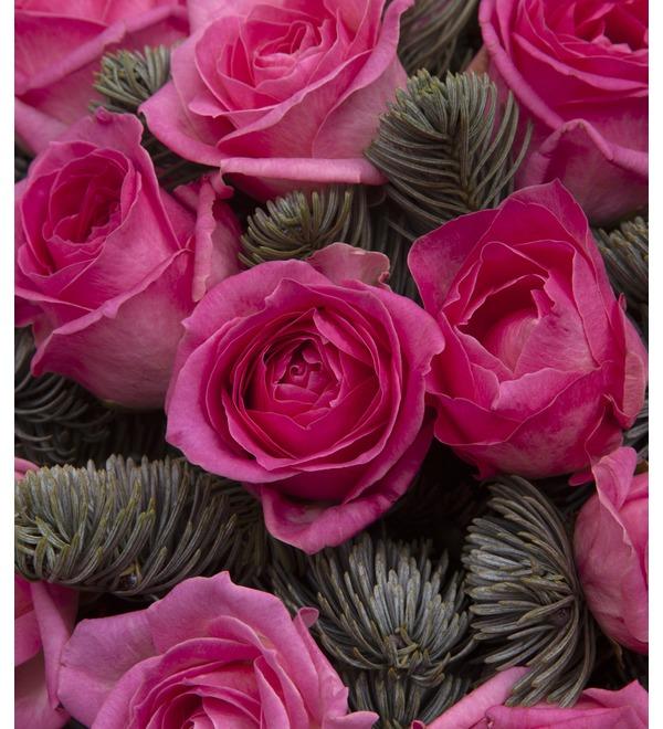 Букет-соло розовых роз (15,25,35,51,75 или 101) – фото № 2