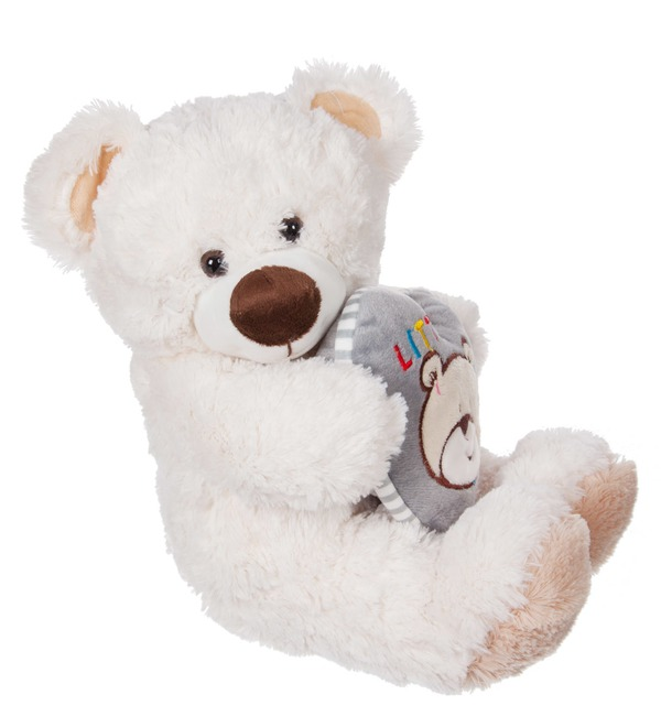 Soft toy Bear Lawrence (36 cm) – photo #1