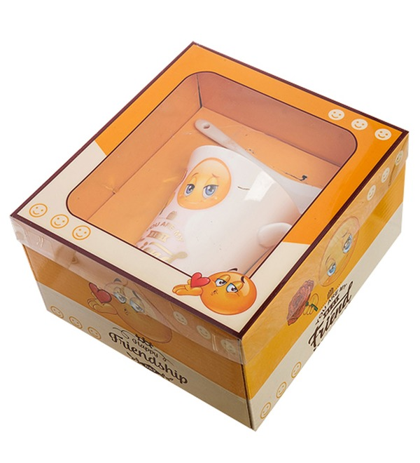 Кружка в подарочной коробке Дружба – фото № 2