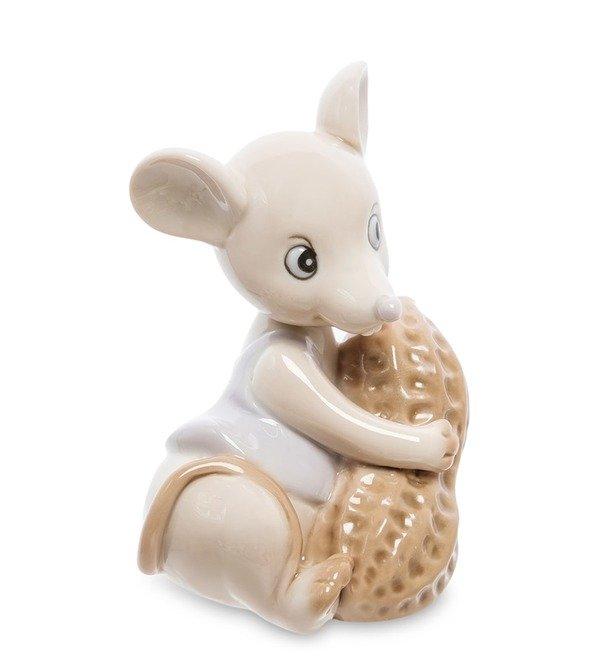 Статуэтка Мышка с орехом (Pavone) – фото № 3