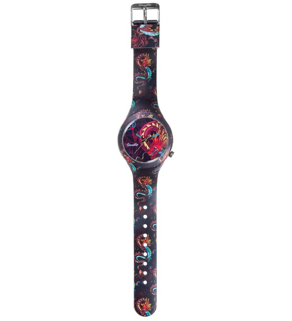 Часы Doodle Дракон – фото № 3