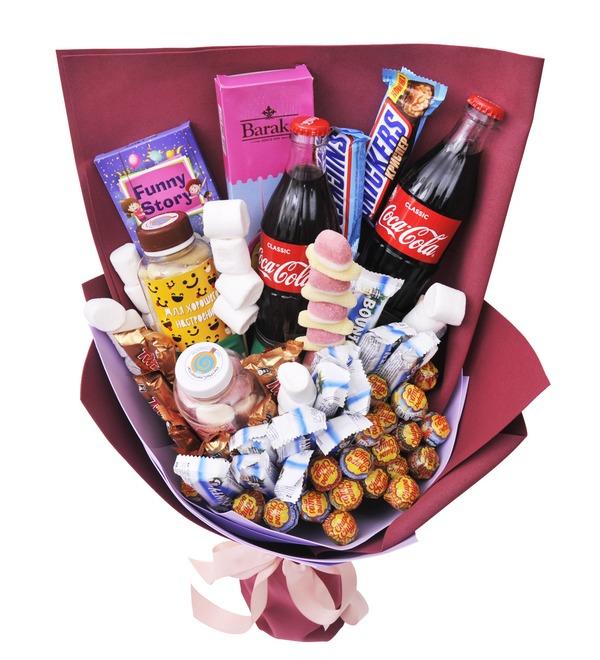 Продуктовый букет сладостей Сластена – фото № 3