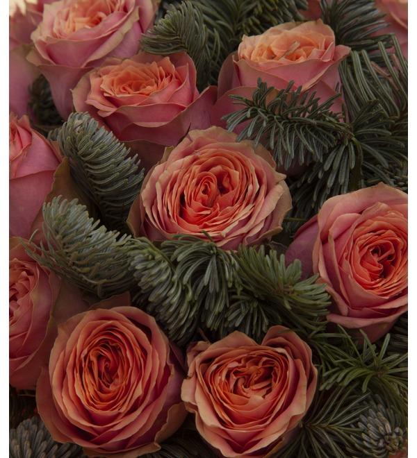 Букет-соло роз Лесная сказка (15,25,35,51,75 или 101) – фото № 2