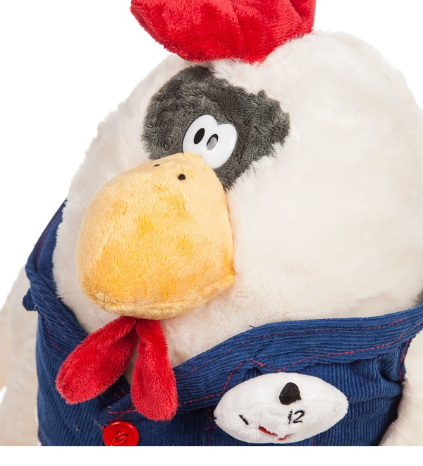 Stuffed toy Rooster Merchant (35 cm) – photo #2