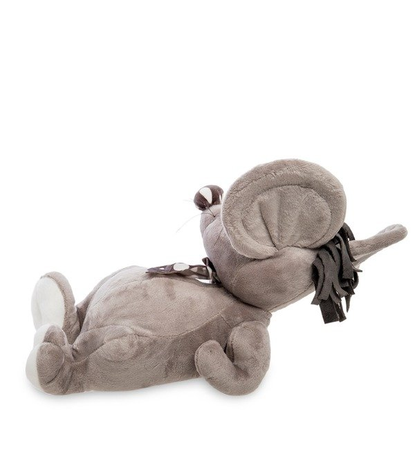 Soft toy Mouse with a scarf – photo #2