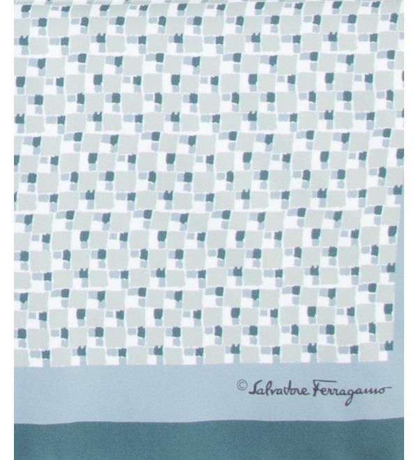 Silk scarf Salvatore Ferragamo (Italy, 70x70 cm) – photo #2