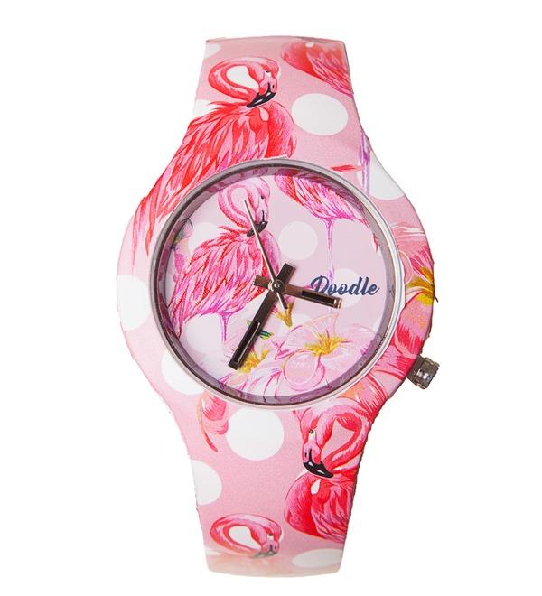 Часы Doodle Фламинго – фото № 1