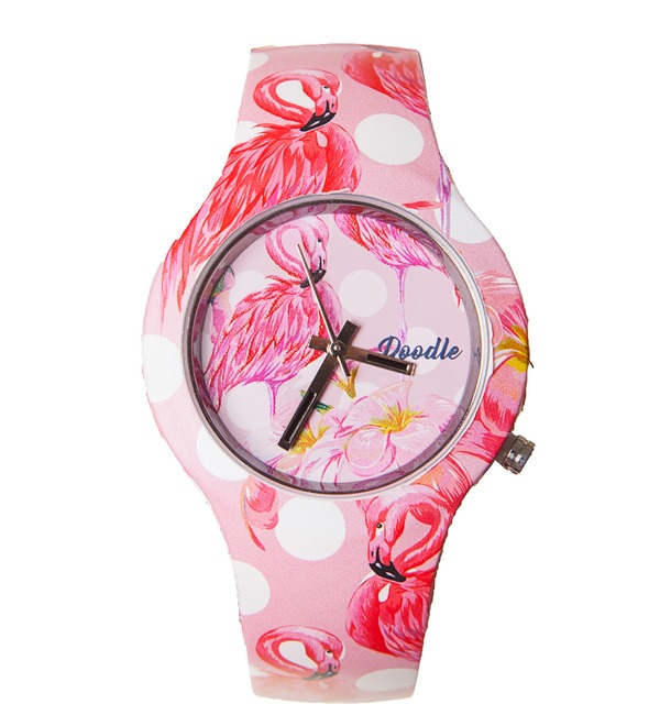 Doodle Watch Flamingo – photo #1