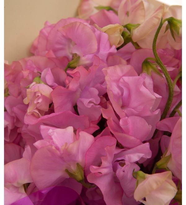 Букет-соло розовых латирусов (15,25,35 или 51) – фото № 2