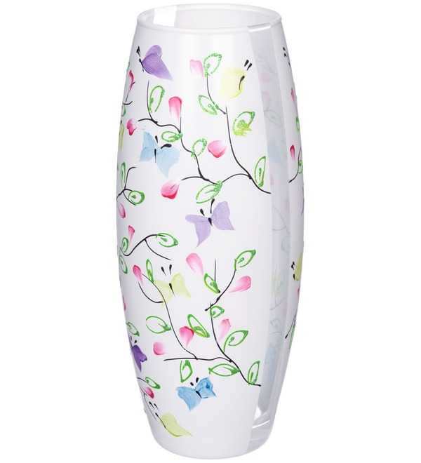 Vase decorated Butterfly – photo #1